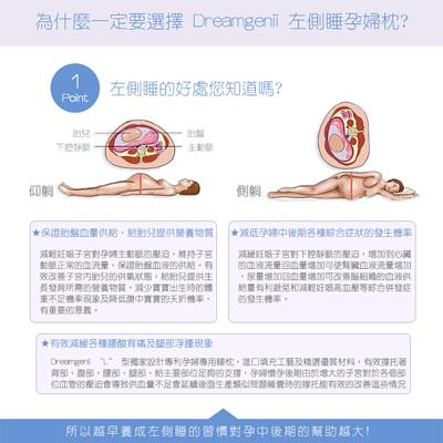 英國 Dreamgenii 多功能孕婦及哺乳枕