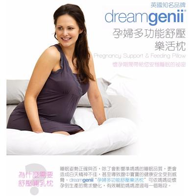 英國 DREAMGENII 多功能孕婦及哺乳枕 / 枕套