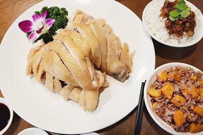 新鮮放山雞, 百切雞, 美食, 野菜