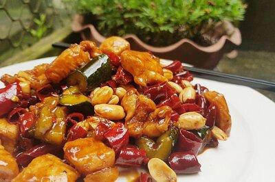 熱炒, 台式料理, 下酒菜, 宮保雞丁