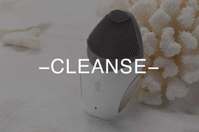 lifetrons, foreo, cleansing, face cleaning, wash face, beauty device, home use, daily routine