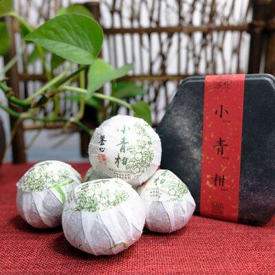 香港正宗小青柑普洱茶