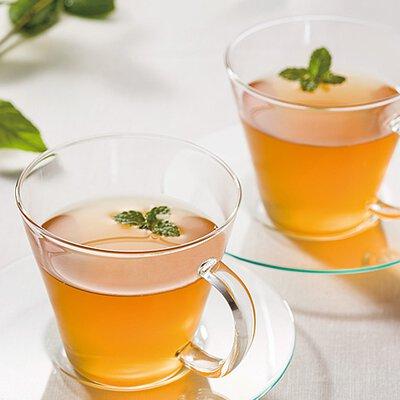 柚子蜜和醋調製的特製飲料