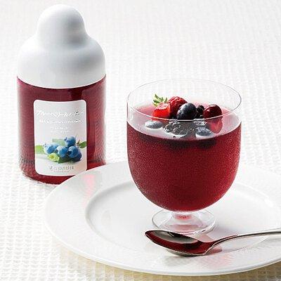 藍莓和蜂蜜果凍