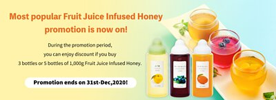 Fruit Juice Infused Honey special price