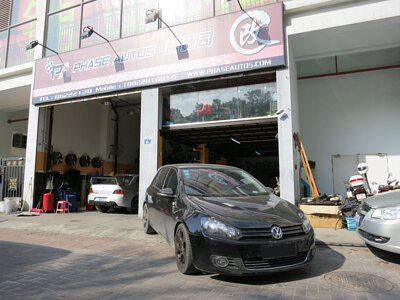 2008 VW GOLF 1.4 TSI Super Resurs DYNO test car shop front photo