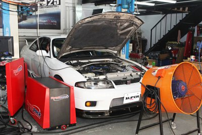 Super Resurs 1996 Nissan Skyline BCNR33 GTR Dyno test