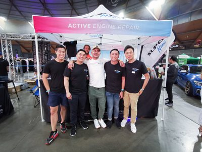Super Nano product launch Australia Hot Import nights 2019 team photo