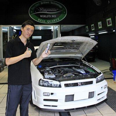 Nissan gtr r34 body engine hong kong super resurs happy customer
