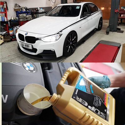 bmw 320i super ester plus 5w30 motor oil