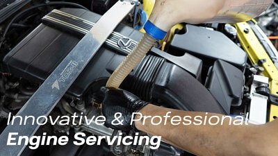 innovative and professional engine servicing