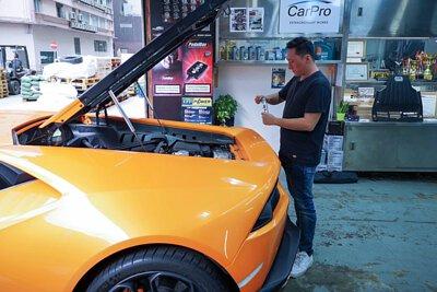 charlie so lamborghini huracan engine restorer super nano brand director