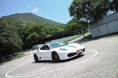 ferrari f430 peter wong hong kong white