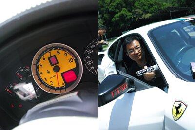 ferrari f430 dashboard peter wong hong kong evolution club chairman