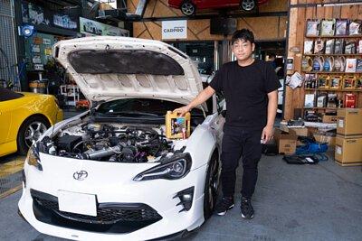 toyota 86 white owner ho lung motor 賀龍汽車維修