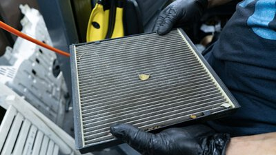 is200 cabin air filter replacement 更換 AC 風隔