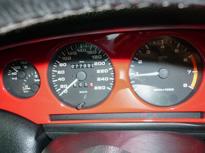 fiat coupe 1995 dashboard