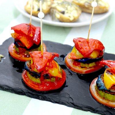 普羅旺斯蔬菜塔|適合3-5人享用的迷你素食田園套餐|多人到會外賣套餐|Kamadelivery