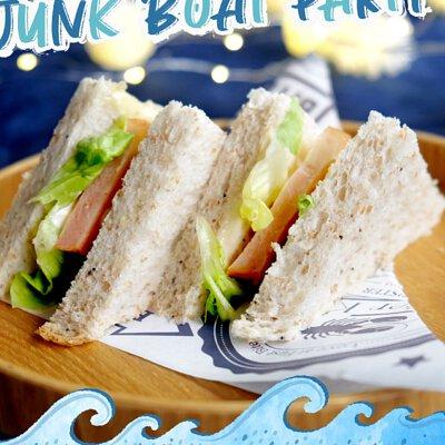 意式燒煙燻鴨胸三文治|適合16-18人享用的Junk Boat Party Set|船P船河派對|多人到會外賣套餐|Kamadelivery