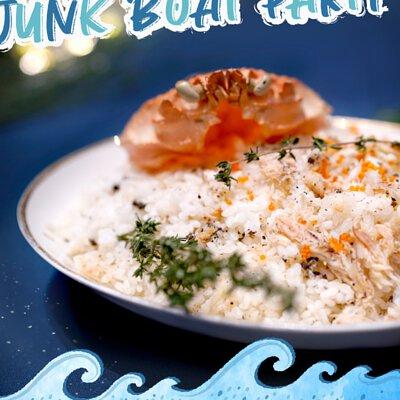 日式松露蟹肉炒飯|適合16-18人享用的Junk Boat Party Set|船P船河派對|多人到會外賣套餐|Kamadelivery