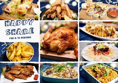 10人到會外賣推介套餐|Kamadelivery推出的Happy Share Set 套餐食物份量適合8-10人到會享用