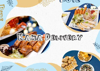 Kama Delivery為大小私人派對、生日會、婚宴酒會、企業公司活動、學校聚餐、船河party等場合設計最合適的到會餐單!