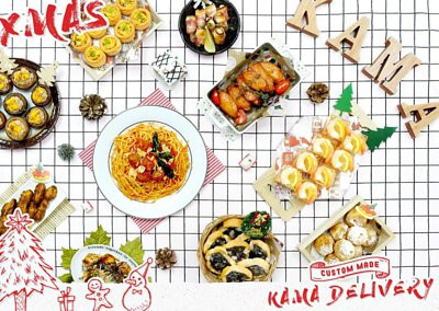 Kama Delivery冬季到會速遞推介|提供西式到會美食包括沙律、前菜、小食、主菜等等。