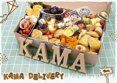 即上 kamadelivery.com 選購各款到會外賣美食及套餐,並享有各種專屬優惠!
