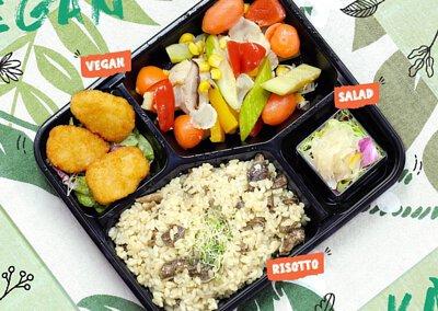 一人素食餐盒到會外賣 健康之選 衛生安全 公司餐飲首選 免運費直送全港各區