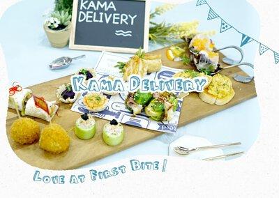 29人外賣套餐推薦|Kama Delivery推出的一口派對小食Set適合在私人婚宴酒會、百日宴、店舖開張、企業簡介會、公司講座、辦公室會議、慶功宴等場合享用及訂購。
