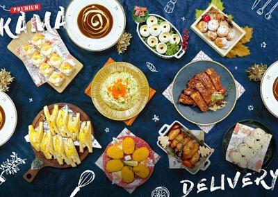 36人外賣套餐介紹 Kama Delivery大型外送到會Menu 精緻自訂人數餐盒 專享全港免運費