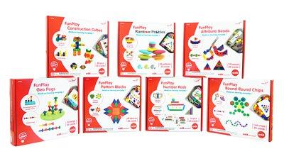 益智玩具-放手玩-培養數感-創意