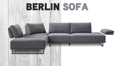 柏林L型沙發