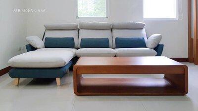 涼感米羅L型沙發