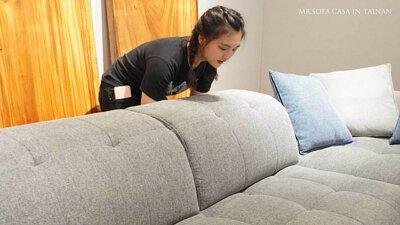 又大又舒服的沙發就是我心中最理想的沙發