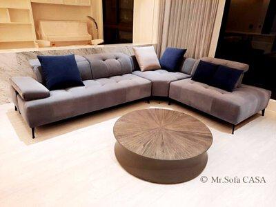 沙發適合家庭成員較多的大家庭