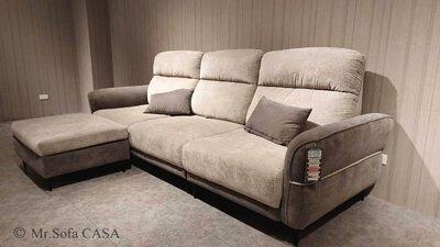 尼可沙發擁有多樣功能性,沙發坐感柔軟舒適