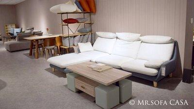 米羅沙發的布料為涼感貓抓布,內含奈米玉石粉,讓你在悶熱的天氣裡感到舒適涼爽!