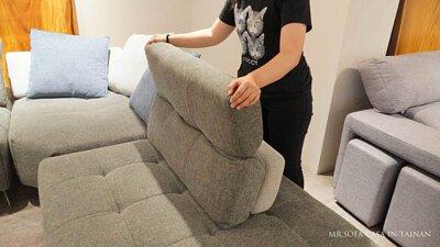 「沙發角度」是人坐在沙發上依靠椅背的傾斜角度