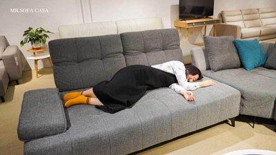 這寬敞的空間,想要安穩地睡覺也沒問題呢~