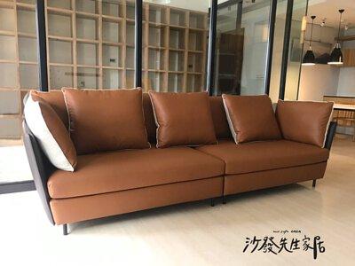 挑選一套棕色沙發,穩重大器的氣場,令人穩定心靈