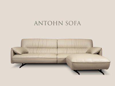 安東尼沙發材質柔軟、舒適透氣,內材填充高彈性科技泡棉