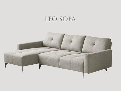 里昂沙發椅背可前後移動30公分