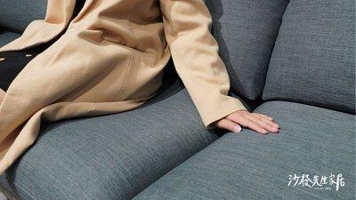 米羅沙發布料為涼感貓抓布,耐磨係數高達二十萬轉左右