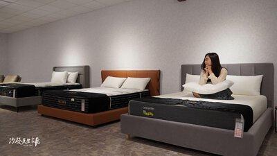 人氣商品「毛毛蟲床墊」現在提供100晚試睡以及15年保固的服務
