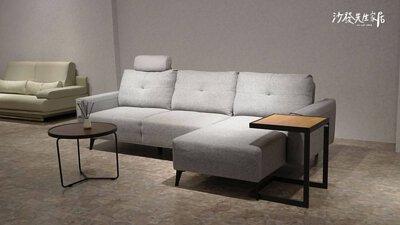 里昂沙發身為功能性L型沙發