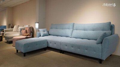 多芬沙發的布料、顏色、尺寸都可進行更改