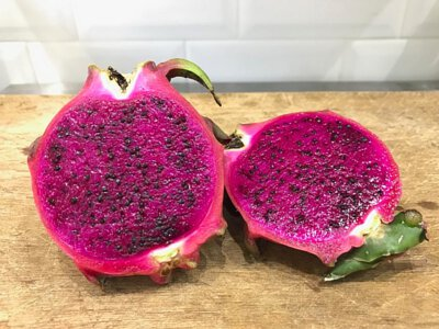 Organic Dragon Fruit Red Flesh Pitaya from HK 香港有機火龍果