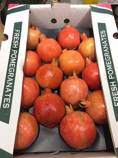 Pomegranate from India 印度神石榴