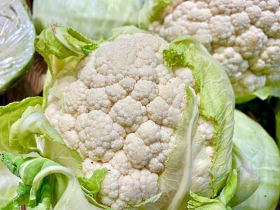Organic Cauliflower from France 法國有機椰菜花
